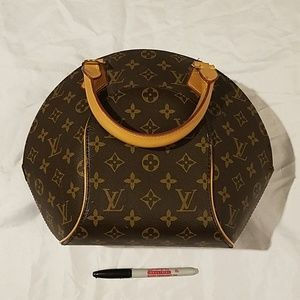 L V Handbag Hard Shell Case Womens Vintage vREADv